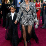 "PHOTOS: Beyonce & Blue Ivy are twinning in matching outfits at ""The Lion King"" World Premiere"