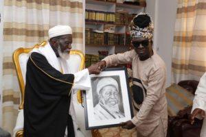 PHOTOS: Kojo Antwi pays courtesy call on Chief Imam