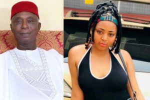 """VIDEO: """"F**k y'all, I love Ned Nwoko"""" - 19 yr old Regina Daniels gushes over 59 yr old billionaire hubby"""
