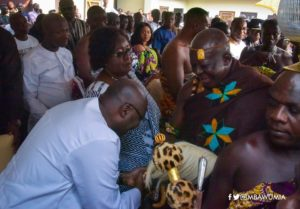 PHOTOS: Vice President celebrates Akwasidae with Otumfour
