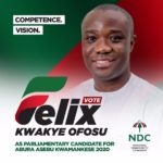 Felix Ofosu-Kwakye OFFICIALLY announces parliamentary ambition