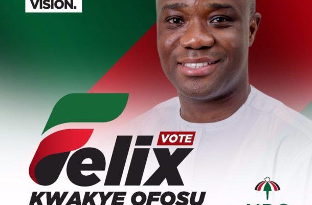 Felix Ofosu-Kwakye OFFICIALLY announces parliamentary ambition