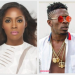 SCREENSHOT: Shatta Wale leaves 'sexy' comment under Tiwa Savage's raunchy photo