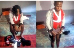 VIDEO: Policeman receives shock after realizing prostitute he sent home was a man