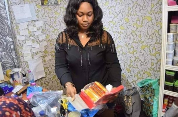 He bought me Iphone X after using Mama Gee's product-lady brags