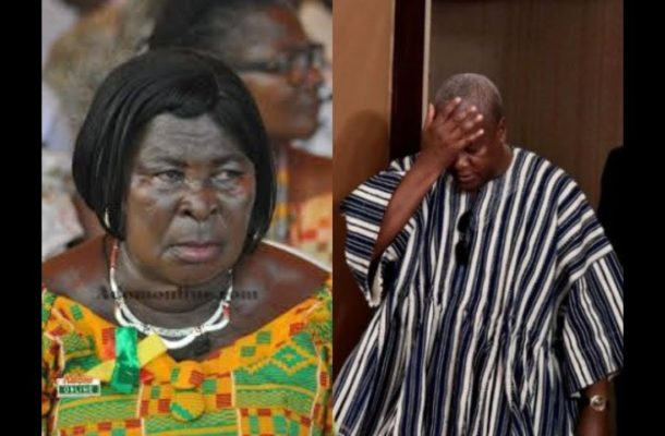 "Akua Donkor viciously turns against Mahama; calls him ""wicked nation wrecker"""
