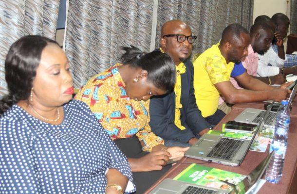 Koforidua: MTN engages journalists