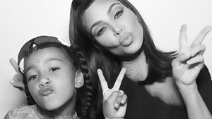 PHOTOS: Kim Kardashian pierces nose for 6 year old daughter, North West