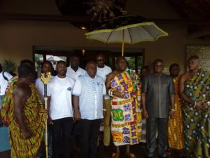 Volta Lake not limited to fishing, irrigation — Odeneho Kwafo Akoto