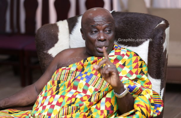 Okyenhene orders for retrieval and internment of dead bodies to ease morgue congestion