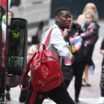 Paul Pogba travels with Man Utd squad for pre-season tour
