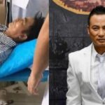 Terrifying moment veteran Hong Kong actor, Simon Yam was stabbed on stage