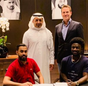 Saudi club Al-Hazem sign Ghana winger Ernest Asante