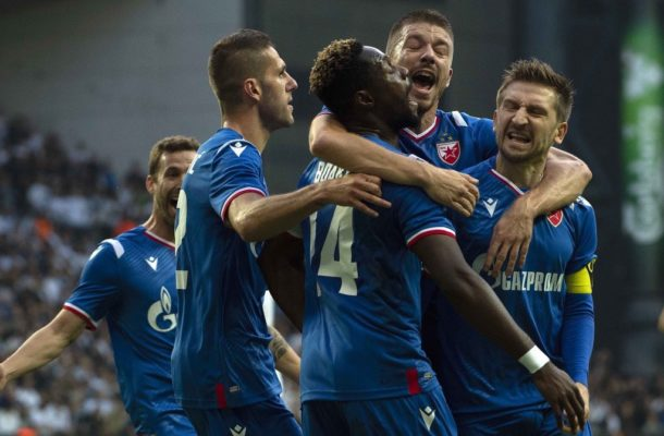 Red Star Belgrade ace Boakye-Yiadom lauds team spirit after UCL progression
