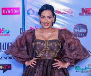 "PHOTOS: Check out Juliet Ibrahim's stylish look for her ""A Toast To Life"" book launch"