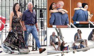 PHOTOS: Amazon billionaire, Jeff Bezos and new boo show off love in Venice vacation