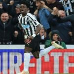 Newcastle sweating over Atsu's fitness ahead of Leicester clash tonight