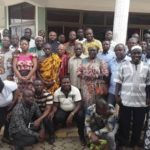 Abronye DC holds town all meeting with NPP members at Sunyani East and West