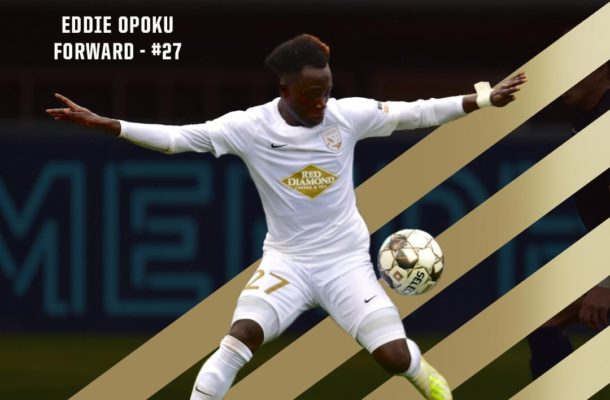 Edward Opoku makes USL Championship Team of the Week