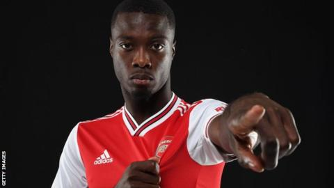 Arsenal sign Ivorian winger Nicolas Pepe for club record fee