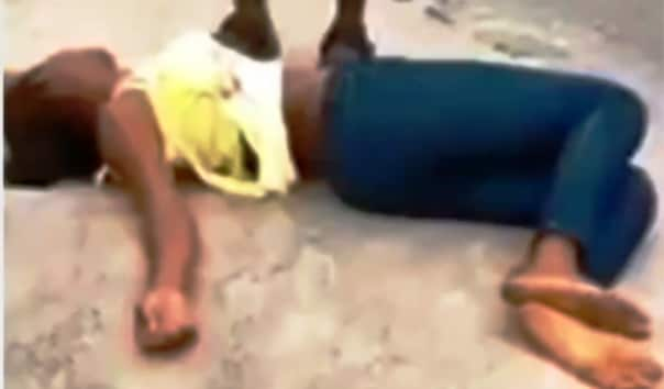 VIDEO: Marry me or I kill myself - Lady tells boyfriend