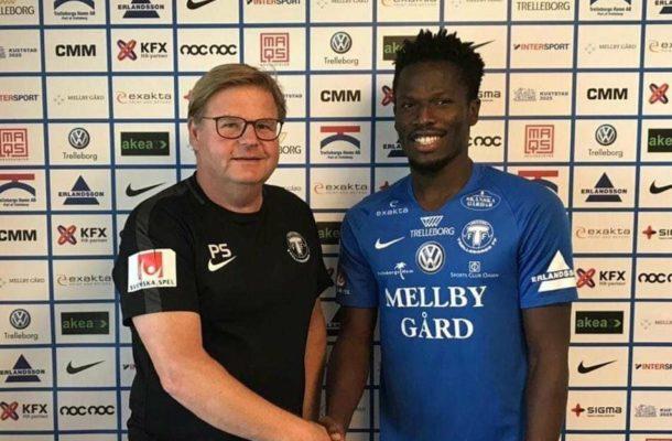 Kotoko striker Abdul Fatawu Safiu joins Swedish side Trelleborgs FF