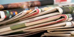 Newspaper headlines: Thursday, August 15, 2019