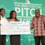 Prez Akufo-Addo presents seed capital to 10 start-up entrepreneurs
