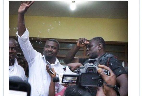 John Dumelo speaks after winning the NDC Parliamentary Primaries