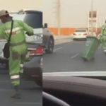 VIDEO: Dancing Nigerian cleaner steals hearts in Abu Dhabi