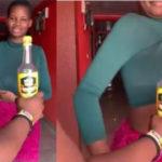 VIDEO: Watch Pamela Odame open a bottle with her gargantuan boobs