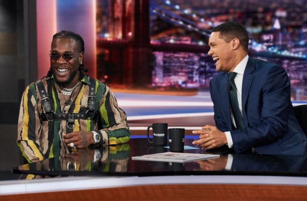 VIDEO: Burna Boy appears on Trevor Noah's The Daily Show, gives electrifying performance