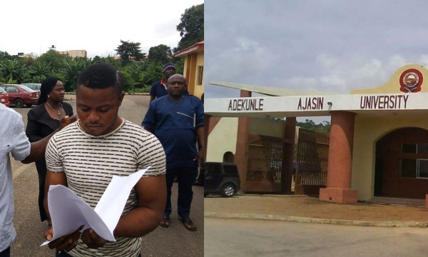 PHOTOS: Soldier who raped University student dragged to court