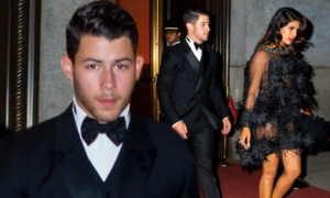 PHOTOS: Nick Jonas and Priyanka Chopra step out in style for Joe's Bond-themed 30th birthday party in New York
