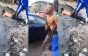 SHOCKING VIDEO: 'Sakawa' boy runs mad after failing to use mother for ritual