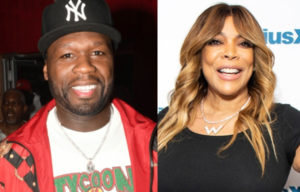 VIDEO: 50 Cent blocks Wendy Williams from entering his party