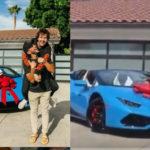 YouTuber David Dobrik surprises friend with Lamborghini gift