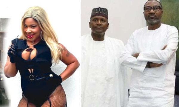 SHOTS FIRED: Popular p*rn star, Afrocandy 'fights' Dangote and Otedola over Nigeria's power problem