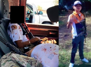 PHOTOS: 16-year-old Mexican hitman Commander Little's head blown off in bloody gun battle with police officers