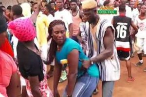 VIDEO: Fetteh ladies bar pot bellied men from attending 2019 Atopa Festival