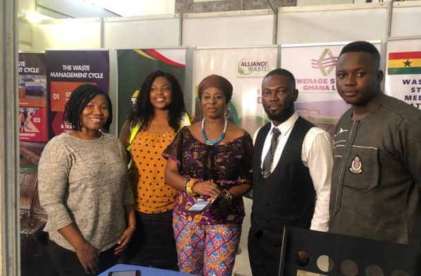 Environment & Sanitation wing of Jospong Group participates in the 2019 Bazaar Extravaganza