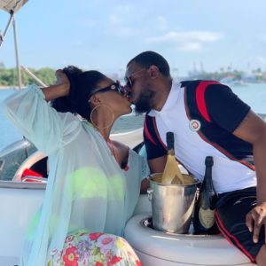 VIDEO: Becca celebrates one year marriage anniversary with hubby Dr. Tobi Sanni Daniels