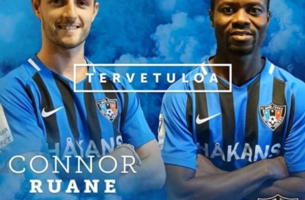 Ghana midfielder Anthony Annan signs for FC Inter