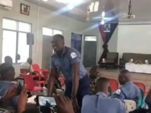 VIDEO: Ghanaian Military men perform Stonebwoy's  song