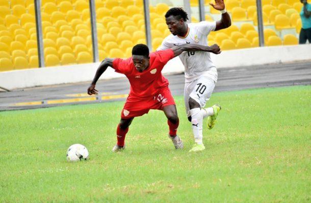 Ghana U23 team beat Hearts of Oak 1-0 in friendly