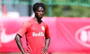 Gideon Mensah's future hots up as Red Bull Salzburg learn of Celtic interest first-hand