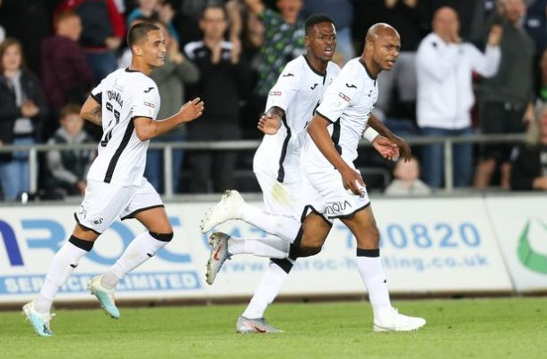 Swansea boss heaps praise on two-goal hero Andre Ayew