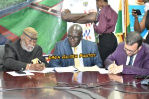 VIDEO: Hearts of Oak sign contract with PREFABEX on Pobiman Project