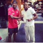 Gyan recounts story behind viral picture with Mayweather
