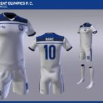 Great Olympics unveil STRIKE as new kits sponsor
